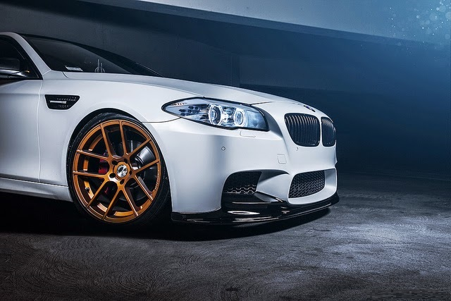 F10+550i+BMW+with+Avant+Garde+Wheels